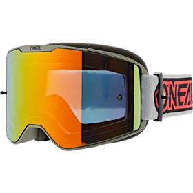 O'Neal B-20 Goggles grau/rot